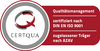 CERTQUA-Logo für Träger- und AZAV-Zertifizierung