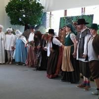 Das Märchenstück wurde im Bfw Sachsen-Anhalt aufgeführt.