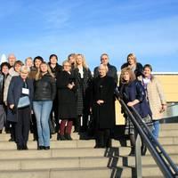 Berufsbildungsmanager aus den GUS-Länder zu Gast im Berufsförderungswerk Sachsen-Anhalt
